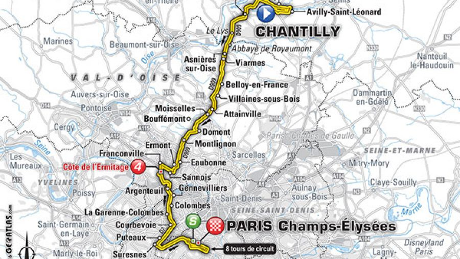Tour de France 2016 live stream: Time, TV schedule and route for Stage 21