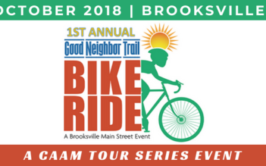 Ride the Brooksville Good Neighbor Trail